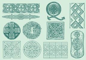 Décorations celtiques vecteur