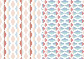 Motif en pastel géométrique abstrait vecteur