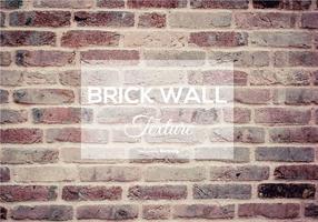 Texture du mur de brique vecteur