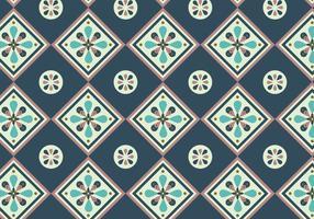 Tuiles bleu foncé vecteur
