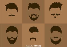 Vecteur Styles Cheveux Homme