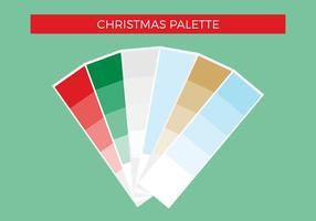 Palette libre de vecteur de Noël