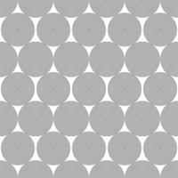 cercles de ligne noire transparente vecteur