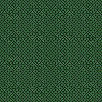 motif de noeud celtique sans couture sur fond noir vecteur