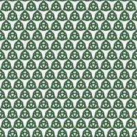 motif de noeud celtique sans couture sur blanc vecteur