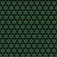 motif de noeud celtique noir vert sans soudure vecteur
