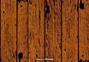Grunge texture de vecteur de planches de bois brun