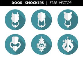 Vecteur libre de haches de porte