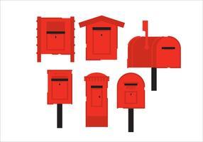 Boîte postale vectorielle vecteur