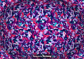 Fond abstrait vectoriel avec des formes géométriques