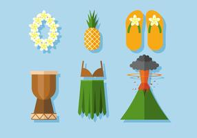 Vecteur hawaï