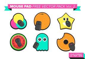 Tapis de souris Free Vector Pack Vol. 2