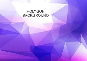 Fond de polygone abstraite de vecteur gratuit