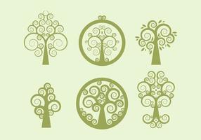 Vecteur libre d'arbre celtique 1