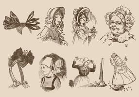 Bonnets anciens
