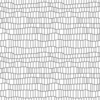 modèle sans couture ligne abstraite grille noire