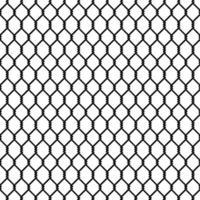 modèle sans couture de maillon de chaîne noire vecteur