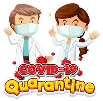 deux médecins portant un masque