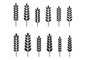 Vecteur de blé libre