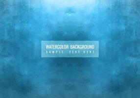 Fond bleu d'aquarelle bleu gratuit vecteur