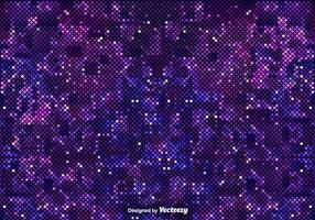 Fond violet pixélisé de l'espace extérieur
