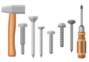 Vecteur d'icônes d'outils gratuit