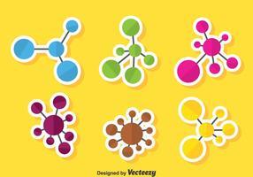 Vecteur d'ensemble d'atomes