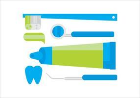 Dentiste vectorielle