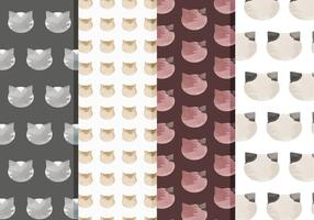 Patterns de chats vectoriels