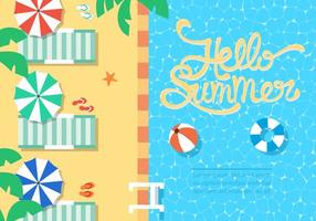 Illustration vectorielle gratuite de Summer Beach