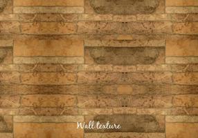 Texture de mur en bois de vecteur libre