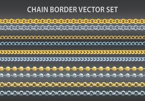 Ensemble vectoriel de chaîne