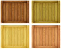 conceptions de carreaux de bois vecteur