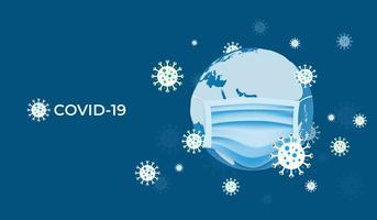 l'infection covid-19 se propage dans le monde entier