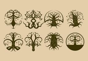 Vecteur libre de l'arbre celtique