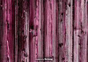 Vecteur de fond violet de bois grunge