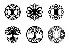 Vecteurs gratuits de l'arbre celtique vecteur