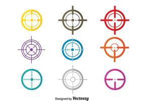 Vector d'étiquette laser coloré