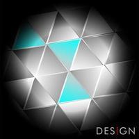 abstrait géométrique avec des triangles.