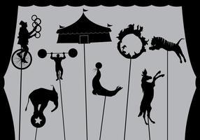 Vecteur de marionnette d'ombre libre