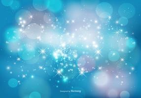Résumé de Bokeh et Sparkles Background