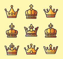 Vecteurs Logo de l'Couronne