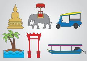 Vecteur de Bangkok