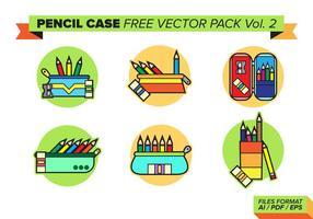 Boîte à crayons Free Vector Pack Vol. 2