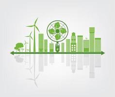 écologie et environnement vecteur