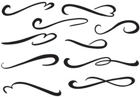 Vecteurs de swish gratuits