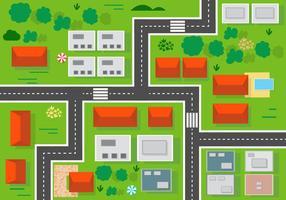 Illustration vectorielle libre de paysage