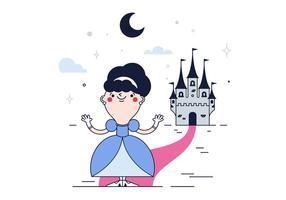 Vecteur de princesse gratuit