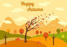 Illustration vectorielle libre d'automne vecteur