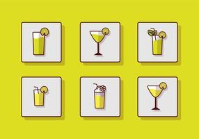 Icône de boisson fraîche vecteur